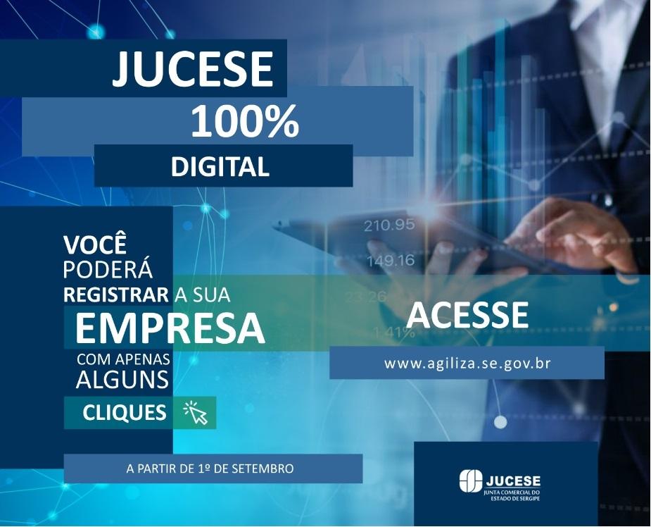 Em Sergipe, registro de empresas passa a ser 100% digital a partir de setembro
